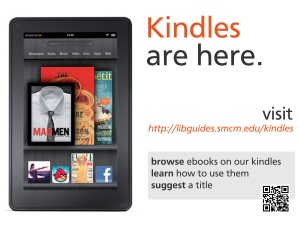 Kindles are Here