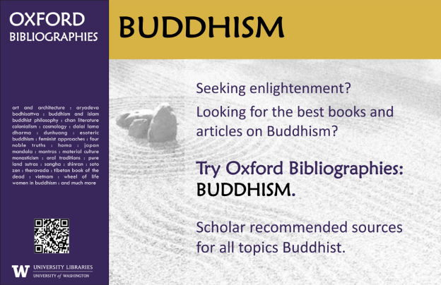 Oxford Bibliography Poster - Buddhism