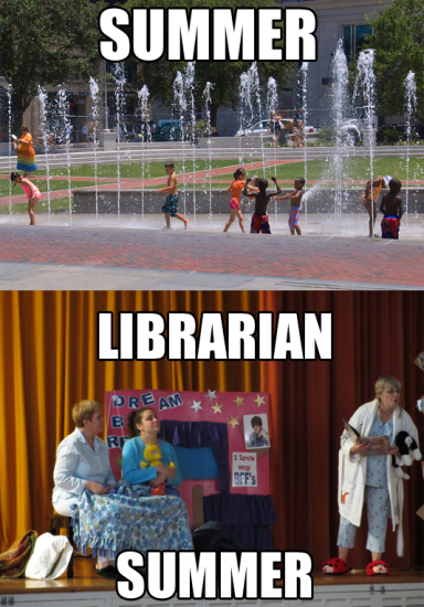 Librarian Summer Meme