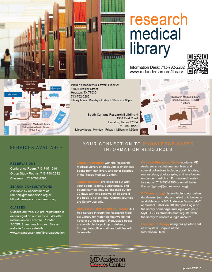 general handouts brochures librarian design share