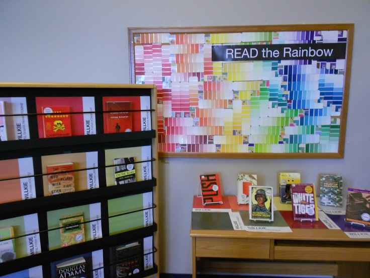 Read the Rainbow: Literacy in Pantone Swatches