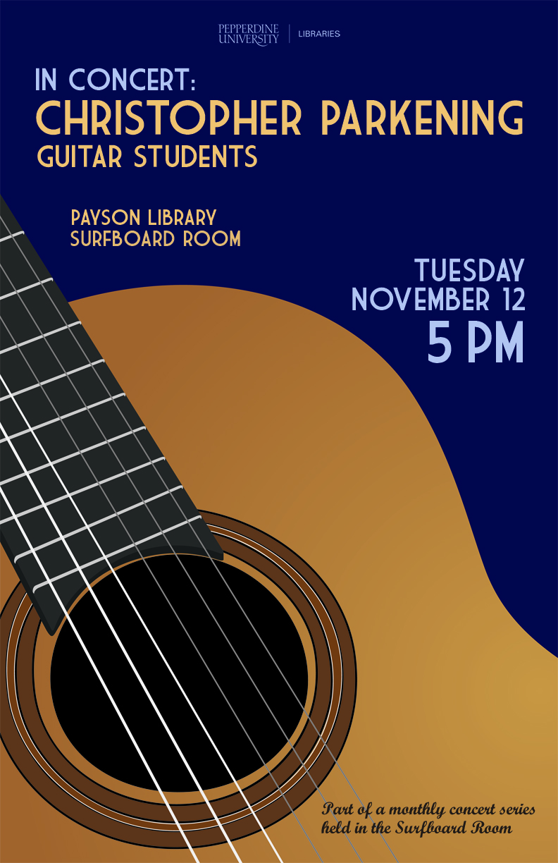 Now In Concert Advertising Events In The Library