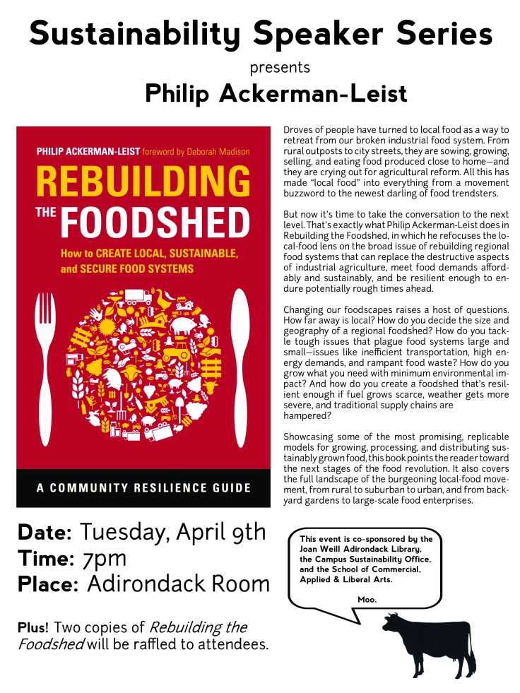 Rebuilding the Foodshed poster