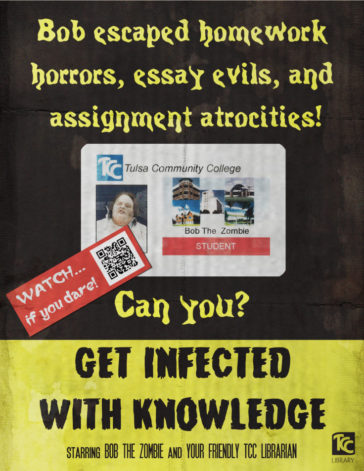 Get Infected With Knowledge - Zombie Library Promo Video Poster