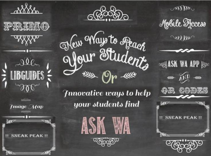Chalkboard Poster by Nono Burling