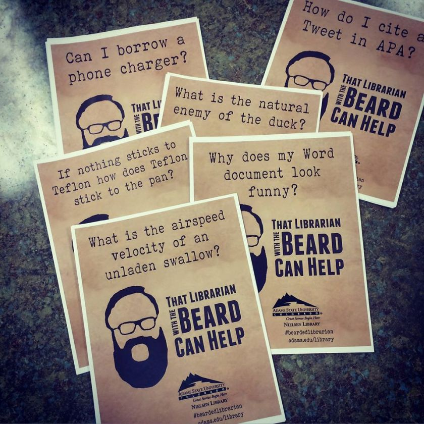 That Guy with the Beard flyer collection