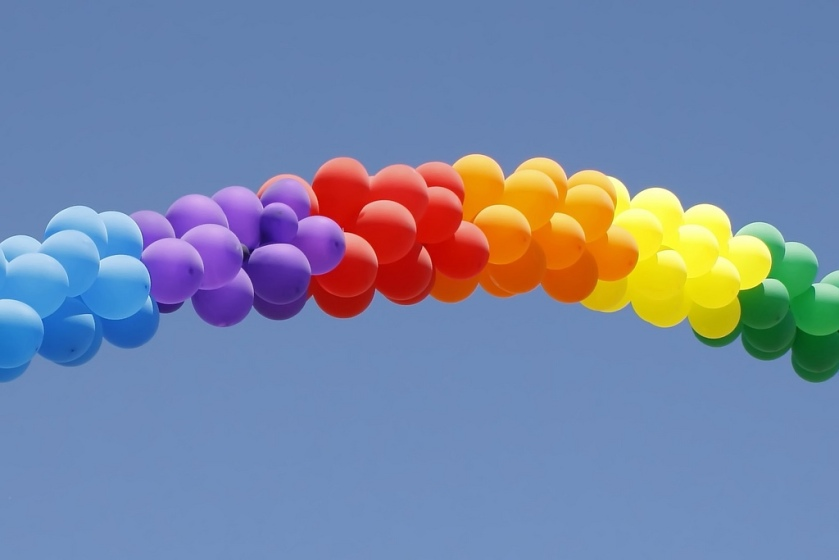 Pride Month - Balloon Rainbow of Awesome
