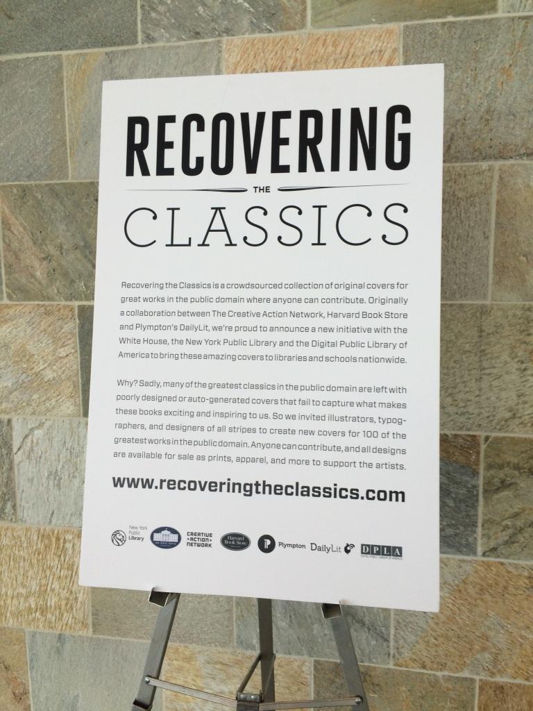 Recovering the Classics Project - Description