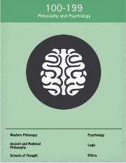 Dewey 100 Philosophy and Psychology