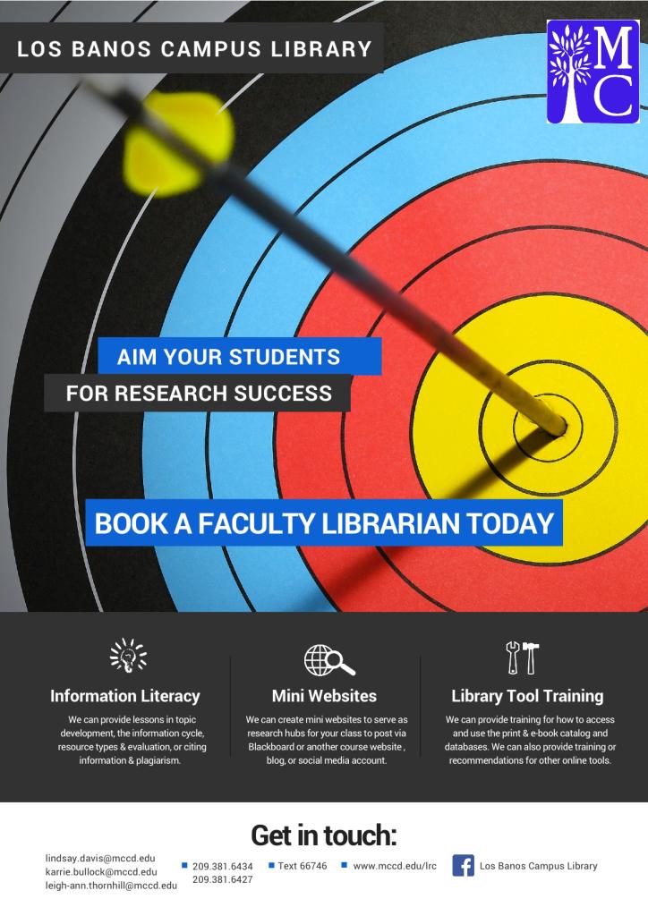 Los Banos Info Flyer (for Faculty)
