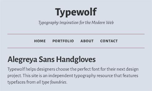 alegreya-sans-font-sample