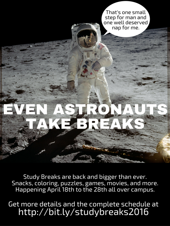Even Astronauts Take Breaks