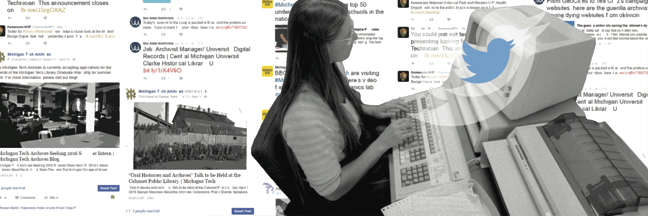 Michigan Technological University Archives social media bookmark