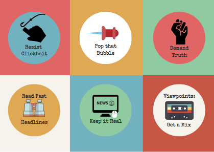 news literacy infographic