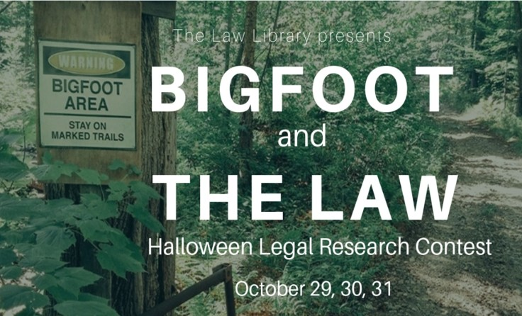 Bigfoot and the Law to post